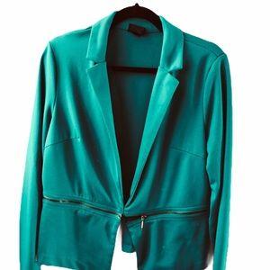 Mossimo Zippered Blazer Size XL